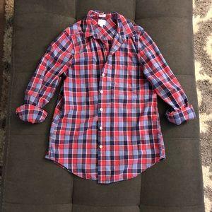 J.Crew boyfit button-up shirt